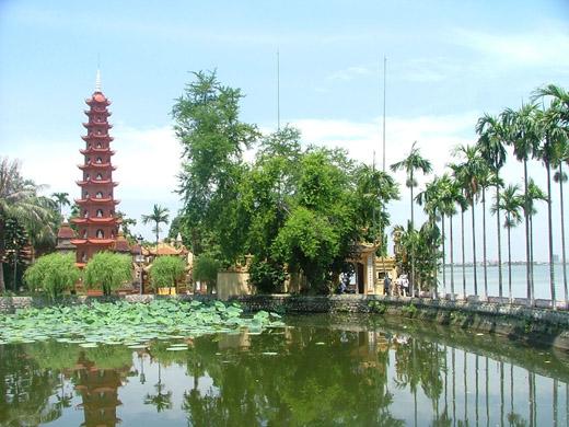 Chùa Trấn Quốc quận Tây Hồ